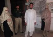 کیلاش خواتین کو ہراساں کرنے والے شخص کو لیڈی پولیس نے گرفتار کیا
