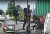 لاہور نہر پر مسلم لیگی ریلی کے مناظر