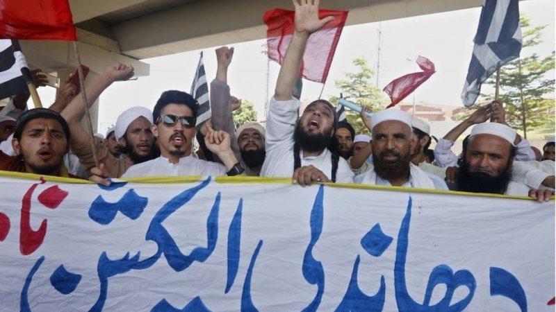 پاکستان احتجاج