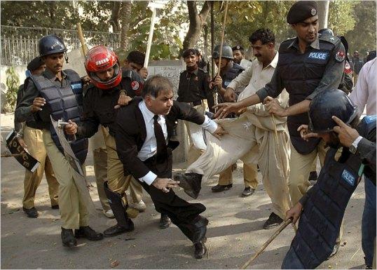 lawyer police