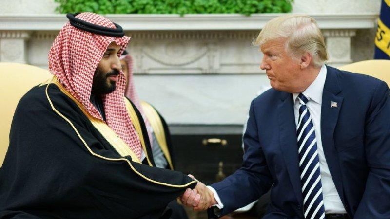 صدر ٹرمپ اور محمد بن سلمان