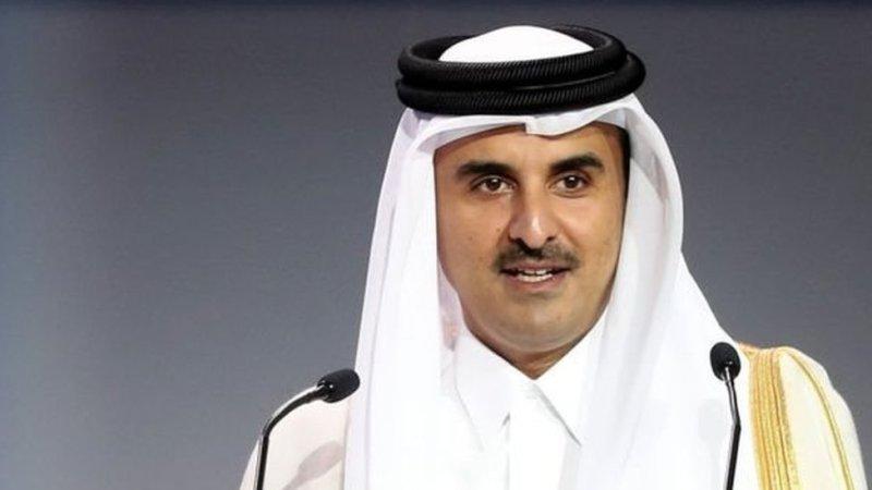 قطر کے امیر تمیم بن حماد الثانی