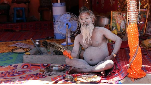 Some Aghoris accept money from people.