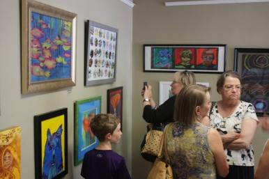 Open House and Faculty Show