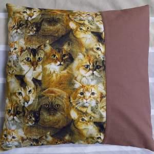 Katzenmotiv Kissenbezug