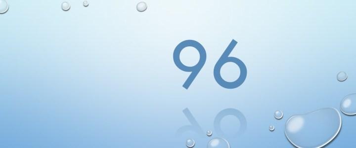 96 Beine …