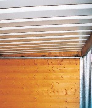 Decke Standard Flachdach