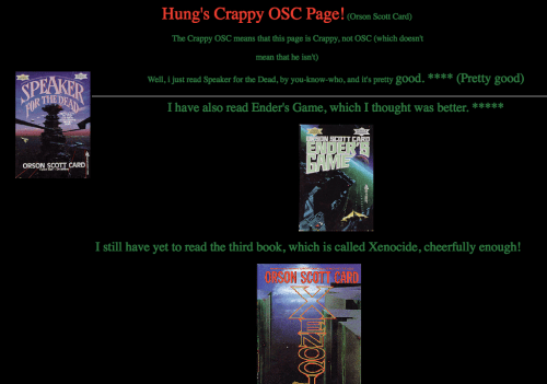 OSC Page