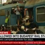 Migrants, tourists, Budapest