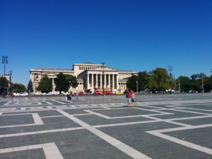 Museum of Fine Arts Heroes Square