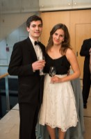 CIP interns Daniel Joos and Fruzsina Tőkés at the Annual HAC Gala Dinner