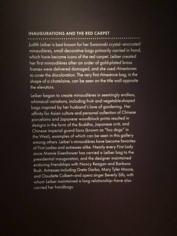 Judith Leiber exhibit opening 11