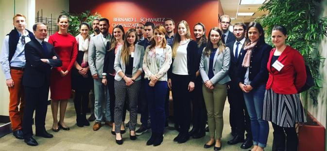 YHLP 2017 participants at SAIS with Ambassador Simonyi