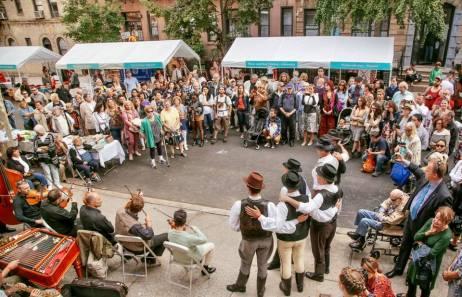 hungarian festival NY street dance