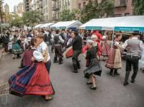 hungarian festival NY street dancing