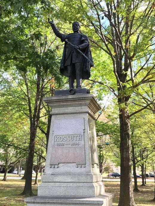Kossuth Statue cleveland