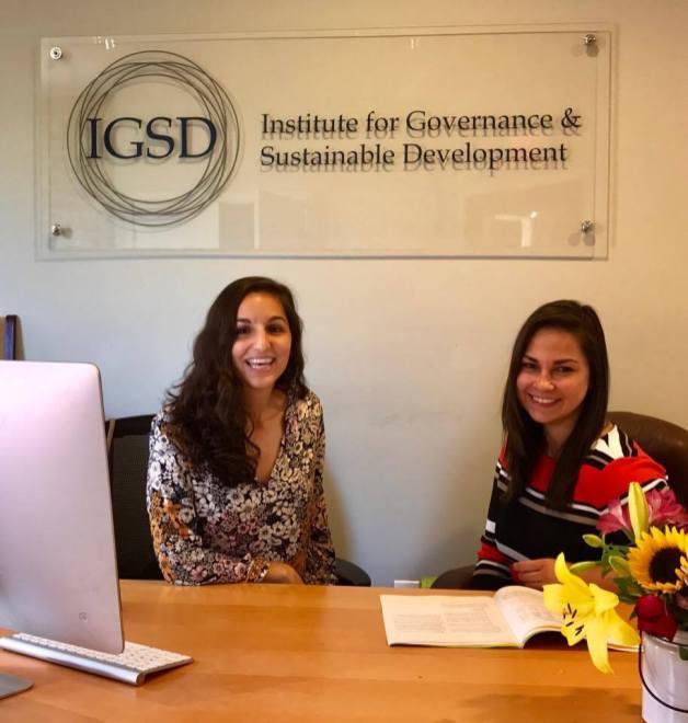 Eva-Lukonits-with-Giselle-Gonzalez-Acting-Media-Coordinator-at-IGSD