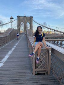 Viktória in New York City