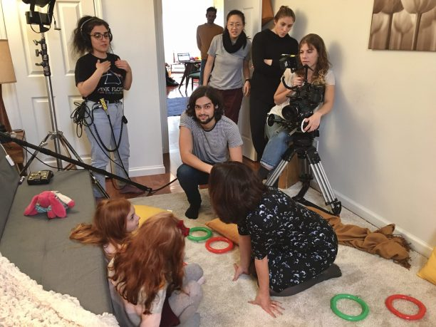 Working on my second year film with a crew full of talent and respect for each other was a truly rewarding experience