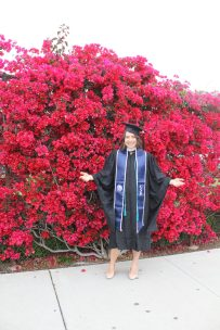 Hungarian graduate at the University of San Diego