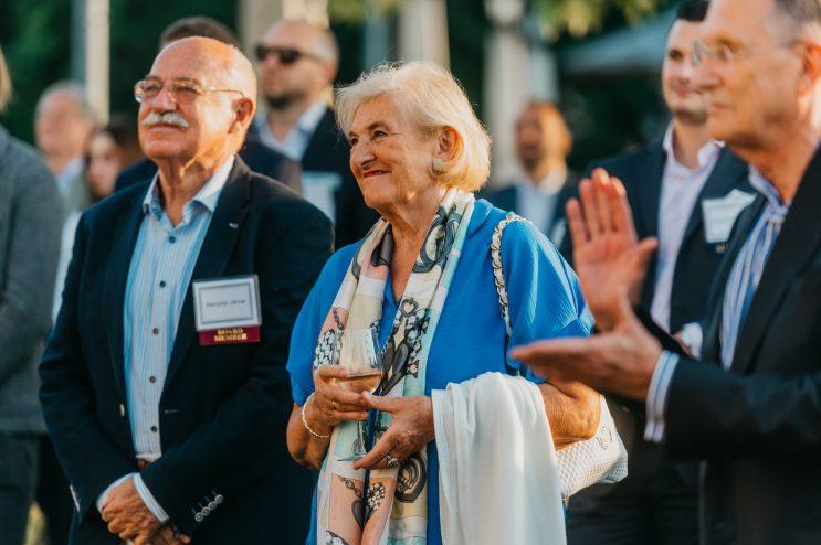 HF Board Member Janos Martonyi and his wife Rosalie