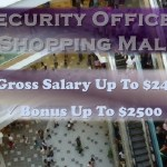 Security Officer - Shopping Centre