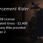 Job Vacancy - Enforcement Rider Officer