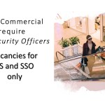 Job Vacancy - Security Officer for Mall and Commercial