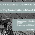 Job Vacancy - Senior Security Officer for Key Installations