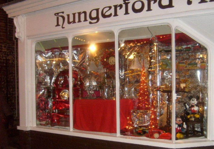 Hungerford Arcade at Christmas