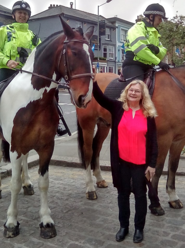 Hungerford Arcade Police Horses Blog May 2017