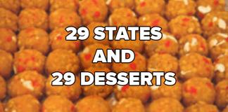 29 States 29 Desserts