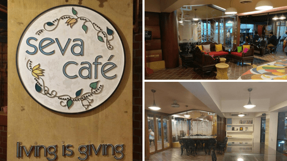 Seva Cafe: Ambiance | Places with Unique Concept In Ahmedabad
