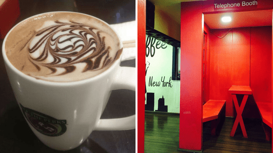 All the perks: Coffee | Date| Places| Coffee | Ambience | Coffee date