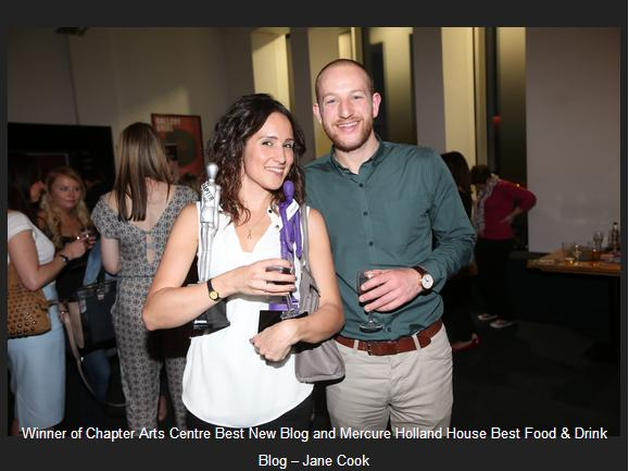 Hungrycityhippy Wales Blog Awards