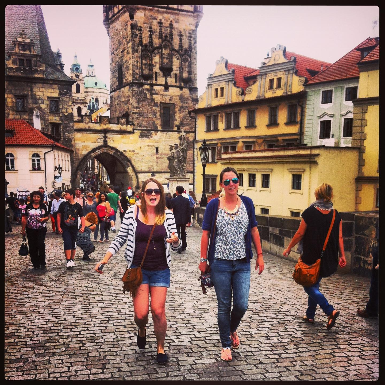 Prague friends