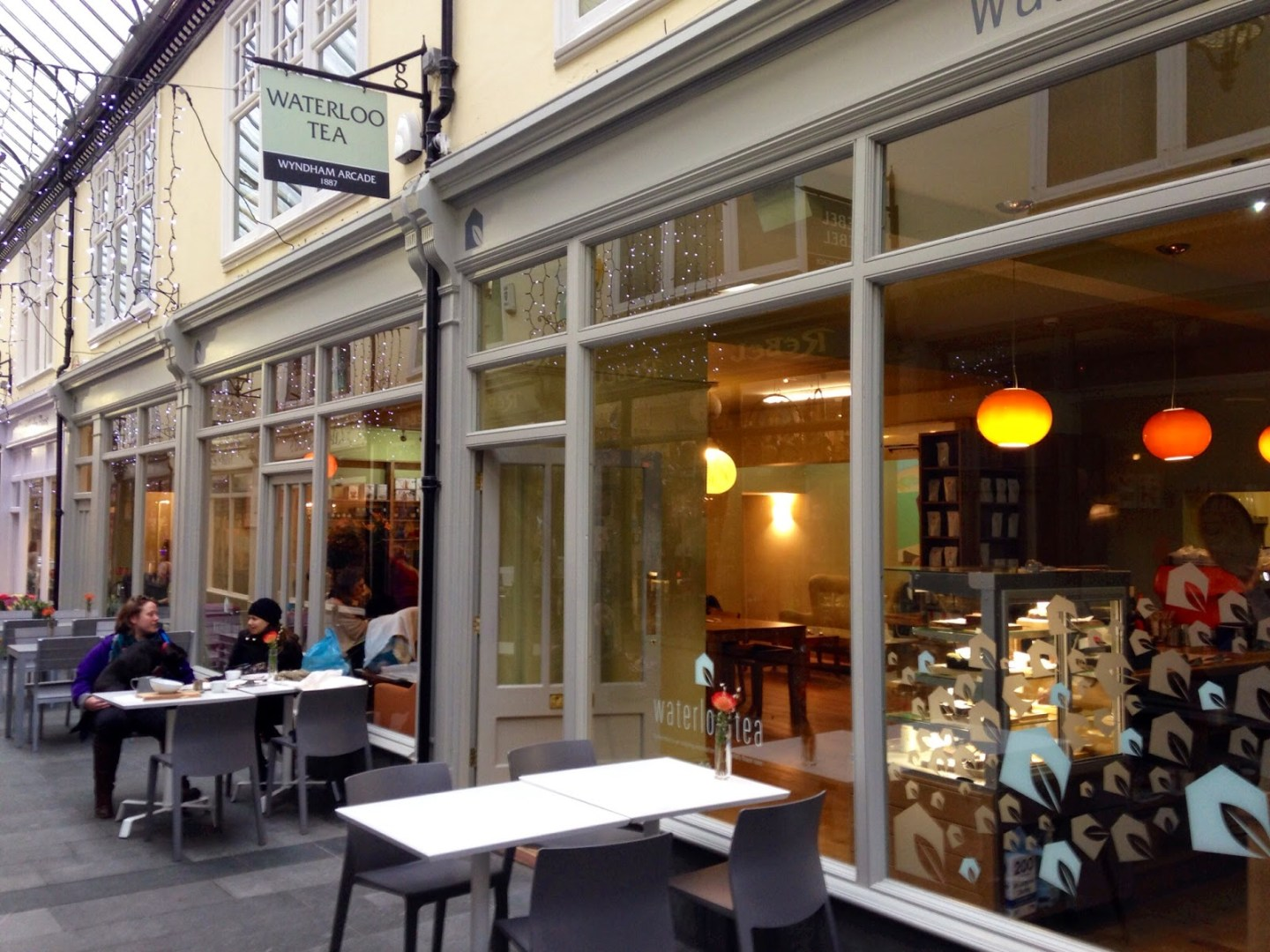 Waterloo Tea opens third cafe in Wyndham Arcade, Cardiff