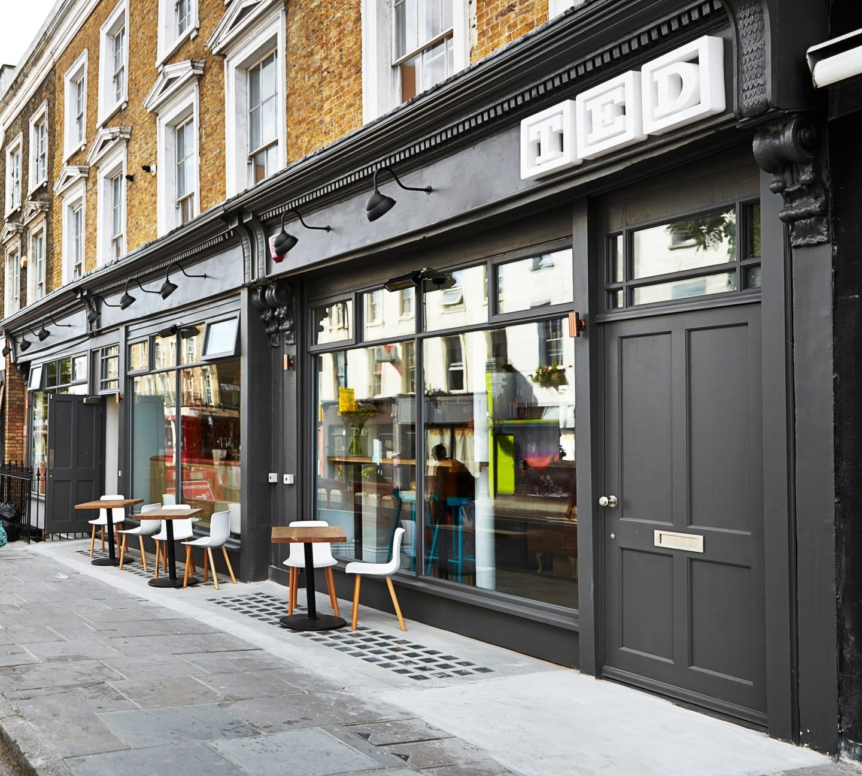 Finding Eco-friendly food in Kings Cross, London