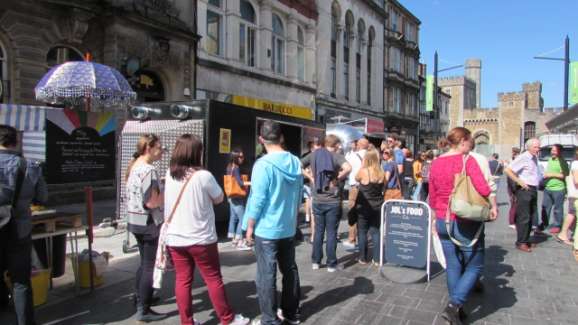 Review: Street Food Cardiff's Summer Pop Up 2014