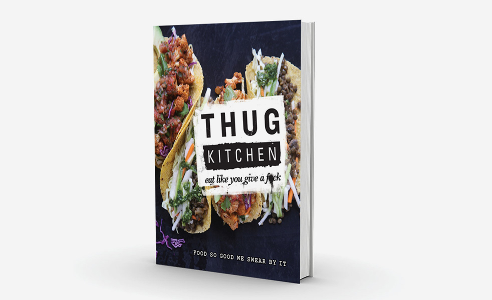 Thug Kitchen cook book, RRP £20