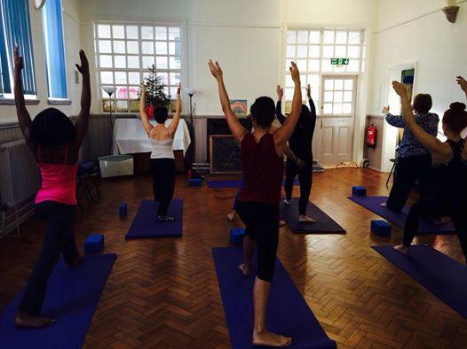 Me doing yoga, check me out!