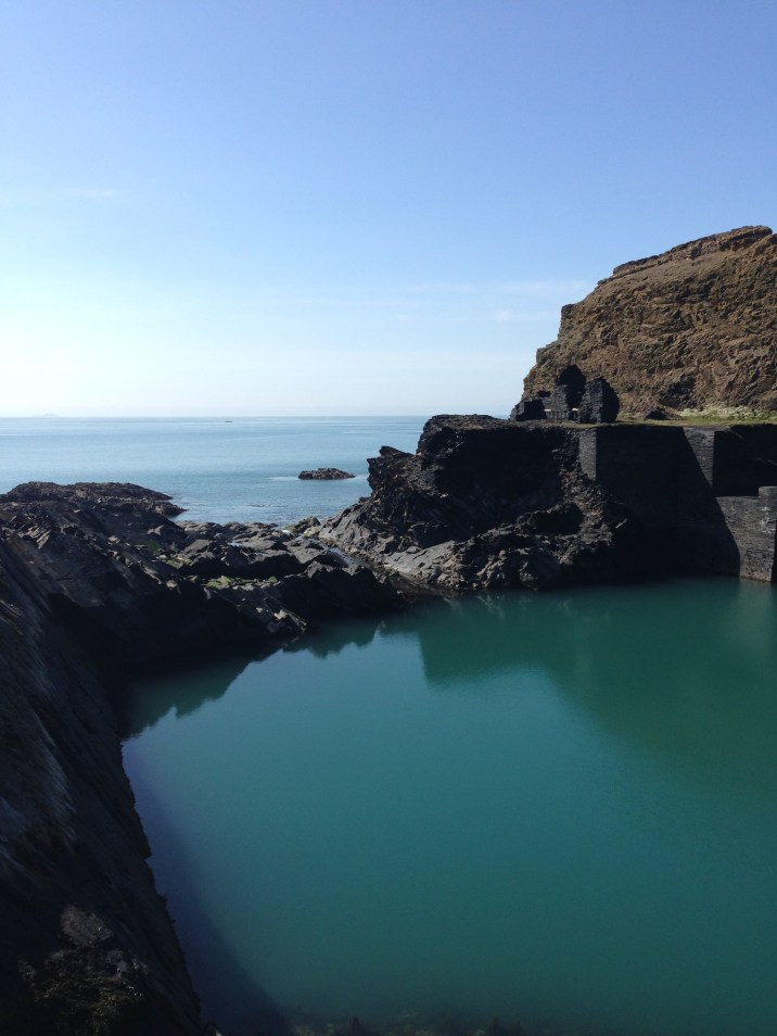 The Blue Lagoon, Abereiddy