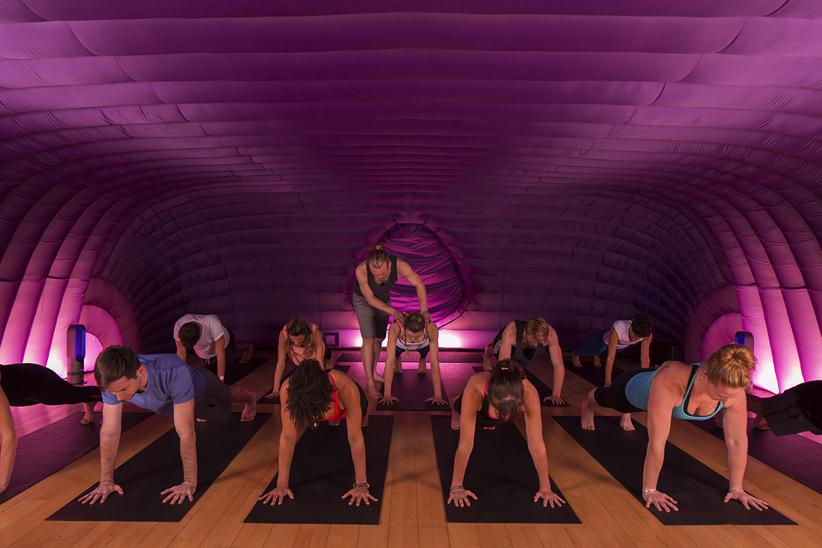 Hotpod Yoga comes to Cardiff, and we tried it first!