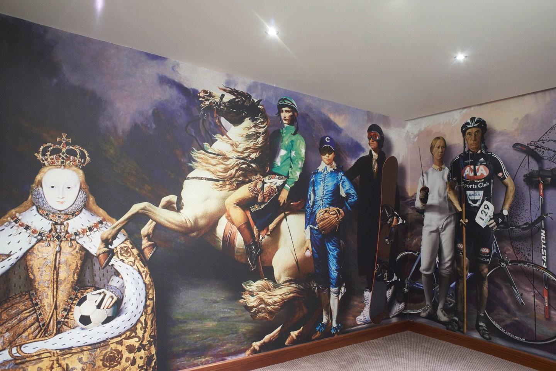 Artwork in the Mercure HH Hotel hallways!