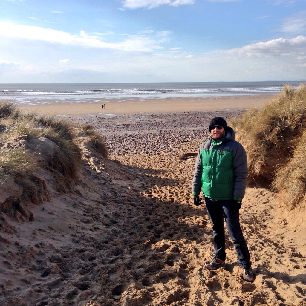 Sand dunes at Llangennith beach
