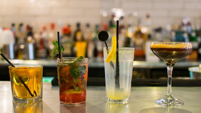 Cocktails at Oscars of Cowbridge