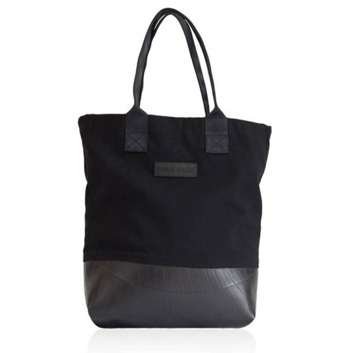 Reclaimed rubber tote, £69