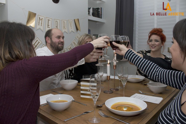 Hire a private chef at home with La Belle Assiette