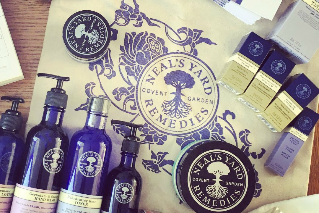 Slightly obsessed with Neals Yard Remedies organic skincare
