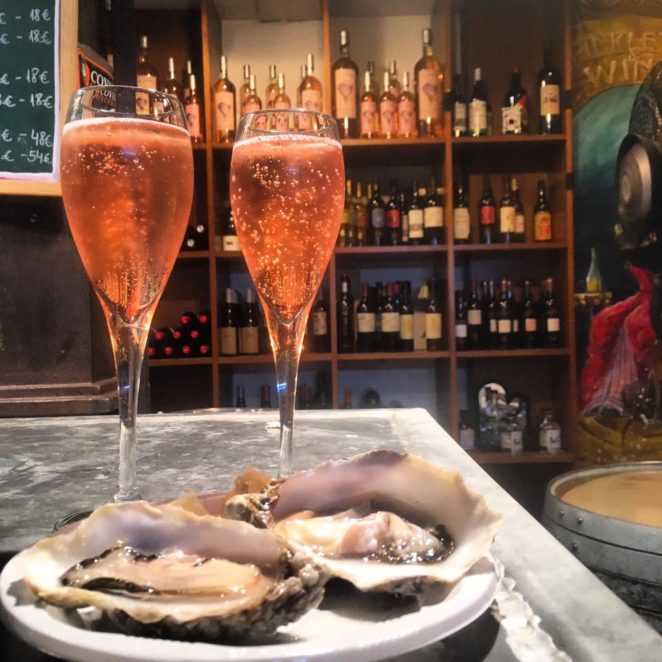 Cava & Oysters